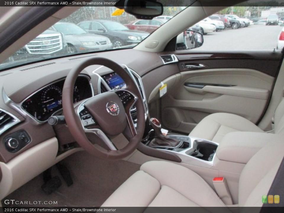 Shale Brownstone Interior Prime Interior For The 2016 Cadillac Srx Performance Awd 107642036 Gtcarlot Com