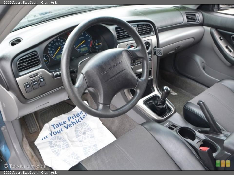 Gray Interior Photo for the 2006 Subaru Baja Sport #107658781