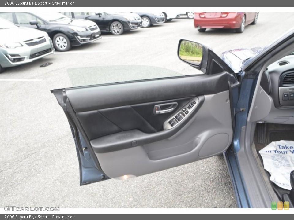Gray Interior Door Panel for the 2006 Subaru Baja Sport #107659003