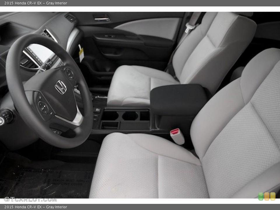 Gray Interior Photo for the 2015 Honda CR-V EX #108044603