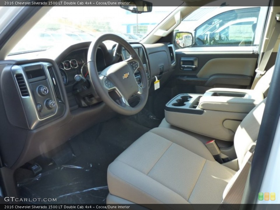 Cocoa/Dune 2016 Chevrolet Silverado 1500 Interiors