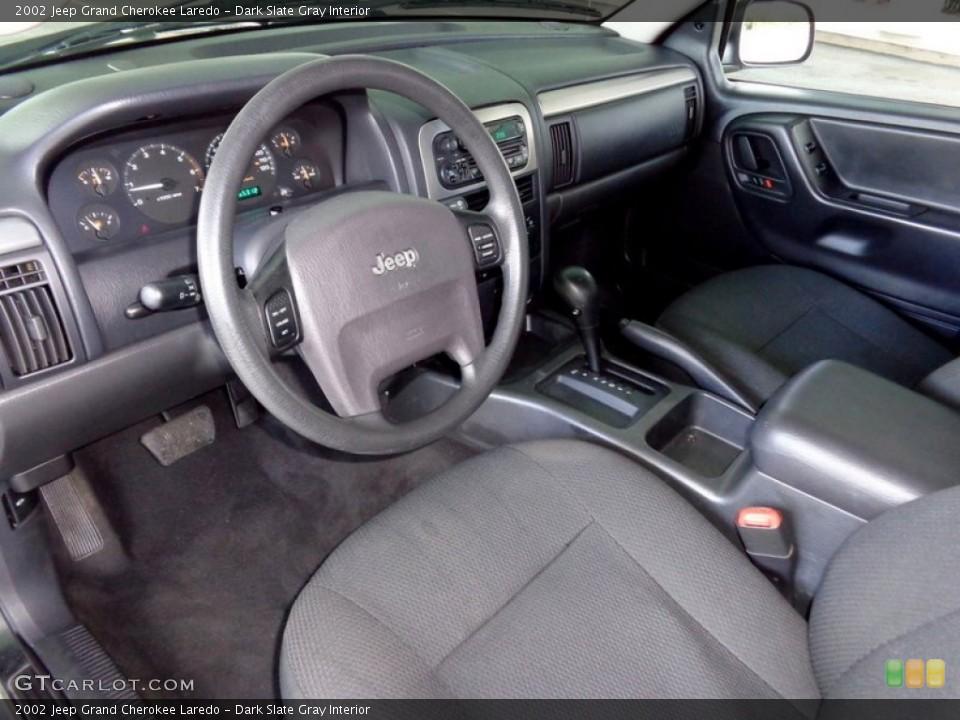 Dark Slate Gray 2002 Jeep Grand Cherokee Interiors