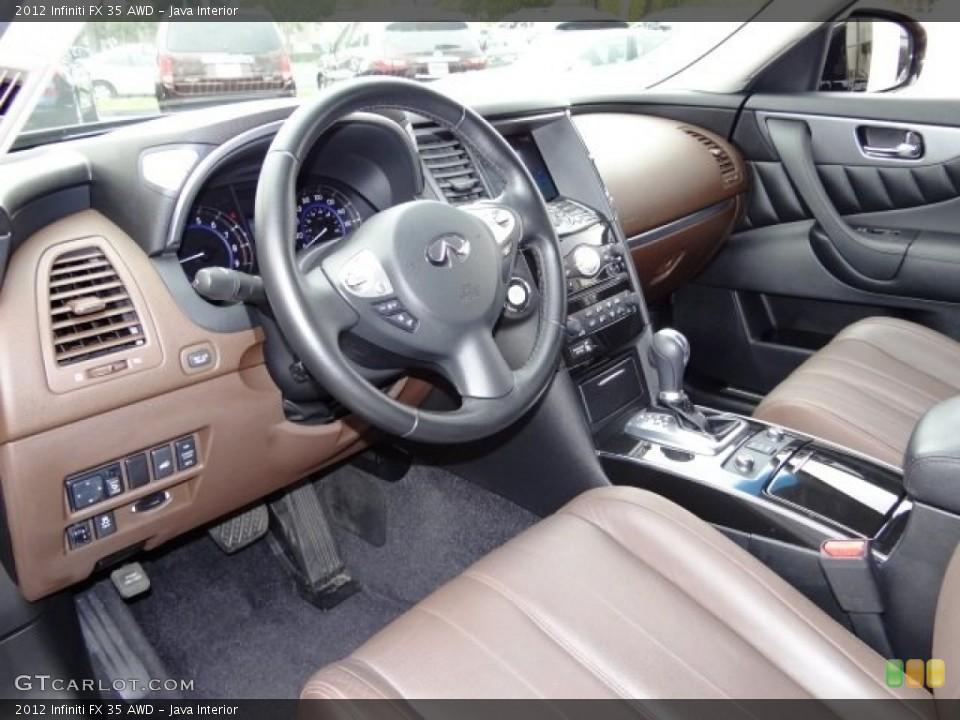 Java Interior Photo for the 2012 Infiniti FX 35 AWD #108242652