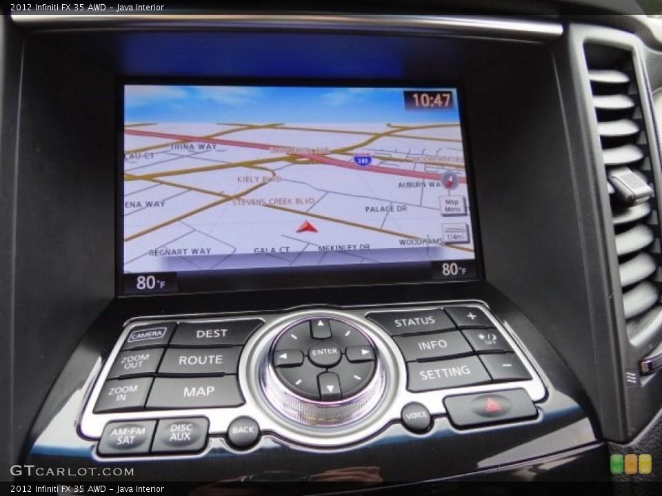 Java Interior Controls for the 2012 Infiniti FX 35 AWD #108242850