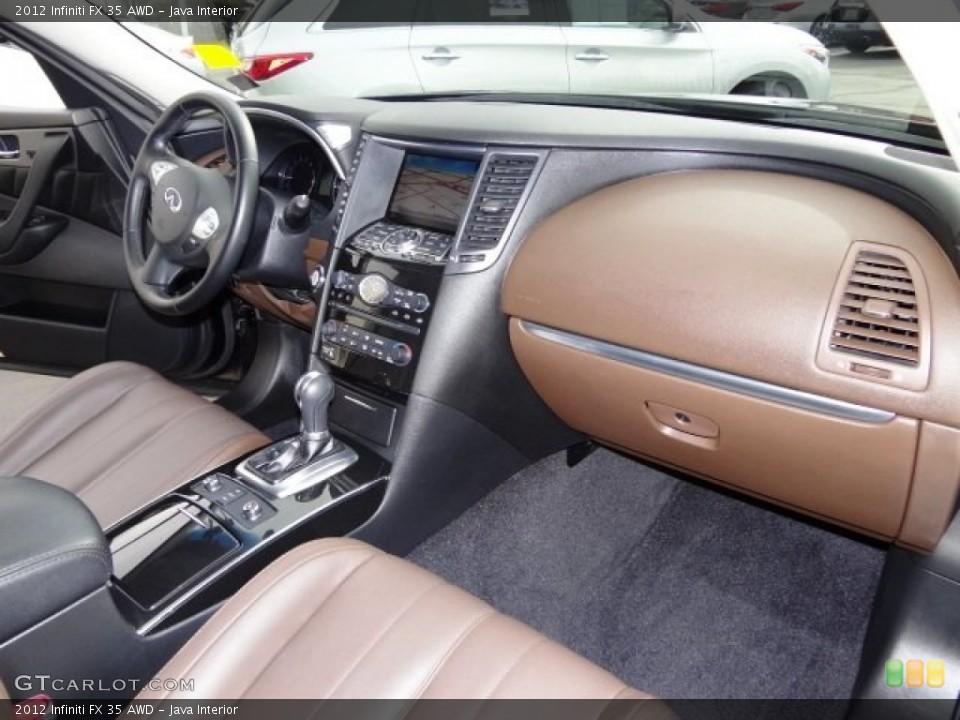 Java Interior Dashboard for the 2012 Infiniti FX 35 AWD #108243086
