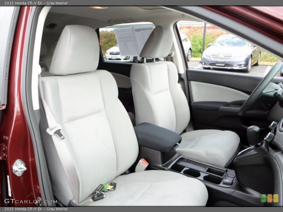 Gray Interior Photo for the 2015 Honda CR-V EX #108372783