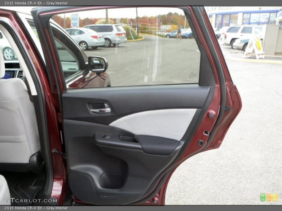 Gray Interior Door Panel for the 2015 Honda CR-V EX #108372876