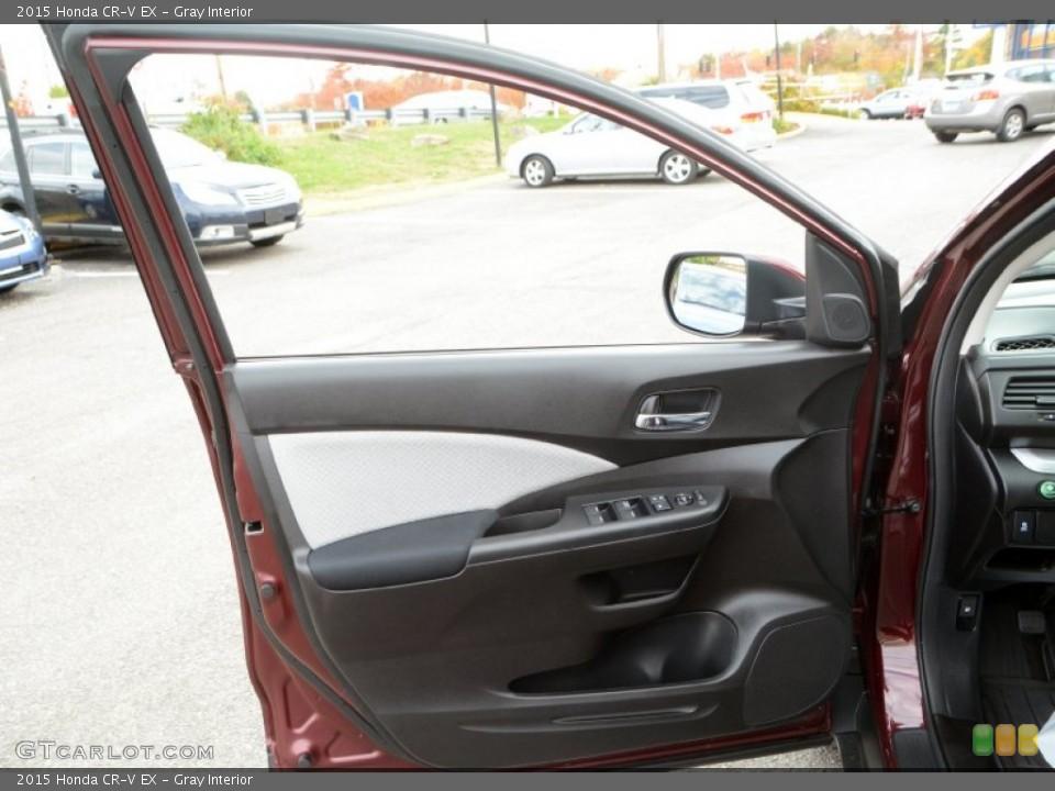 Gray Interior Door Panel for the 2015 Honda CR-V EX #108372894