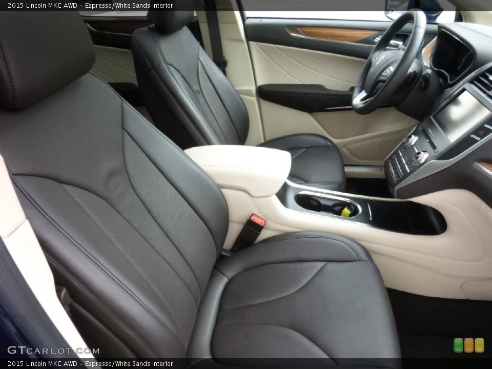 Espresso/White Sands Interior Photo for the 2015 Lincoln MKC AWD #108538922