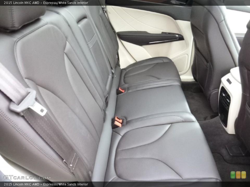 Espresso/White Sands Interior Rear Seat for the 2015 Lincoln MKC AWD #108538982