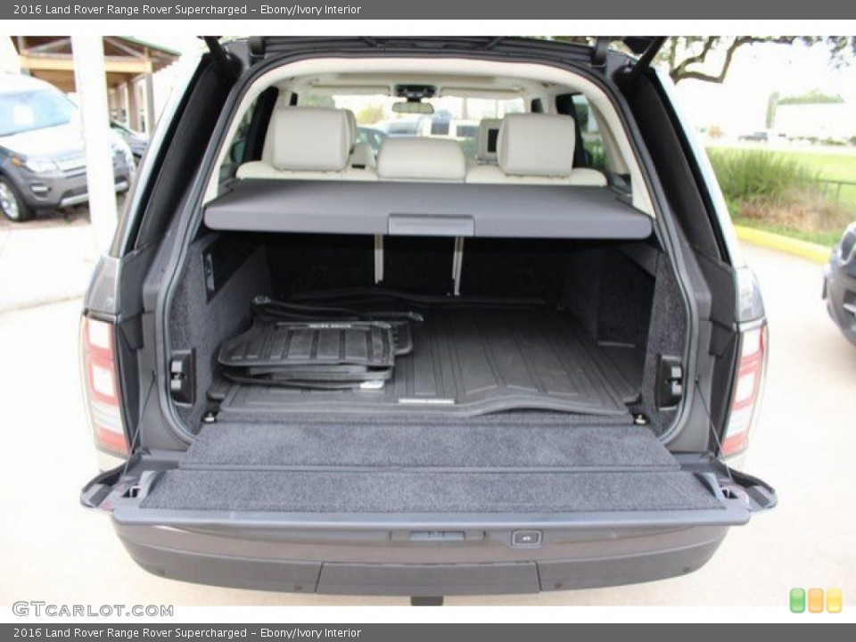 Ebony/Ivory Interior Trunk for the 2016 Land Rover Range Rover Supercharged #108757193