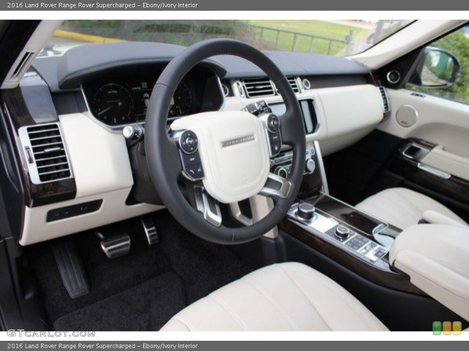 Ebony/Ivory Interior Prime Interior for the 2016 Land Rover Range Rover Supercharged #108757242