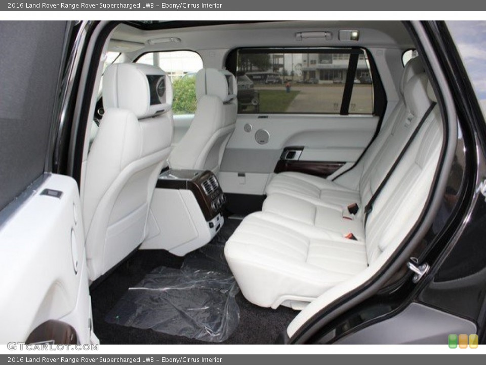 Ebony/Cirrus Interior Rear Seat for the 2016 Land Rover Range Rover Supercharged LWB #108758053