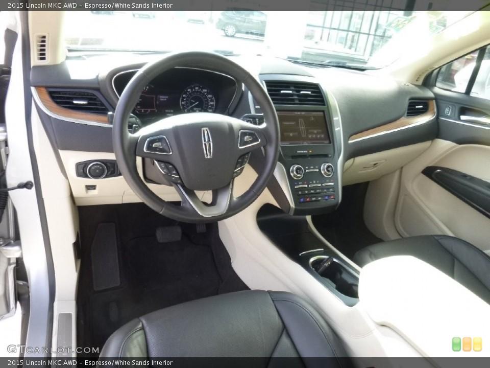 Espresso/White Sands Interior Prime Interior for the 2015 Lincoln MKC AWD #108908057