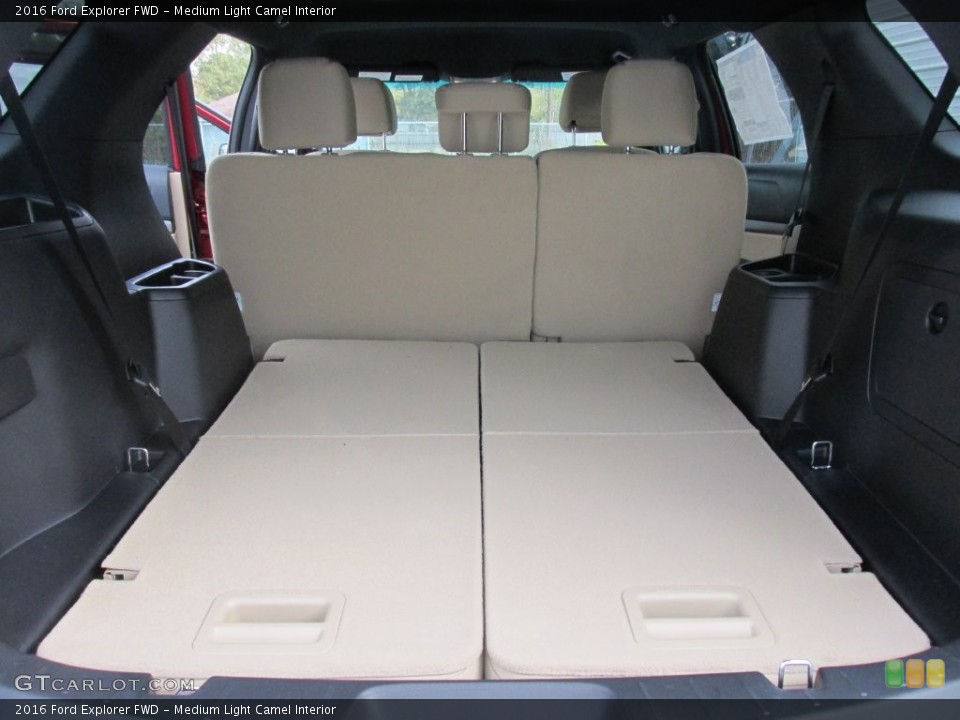 Medium Light Camel Interior Trunk for the 2016 Ford Explorer FWD #109113208