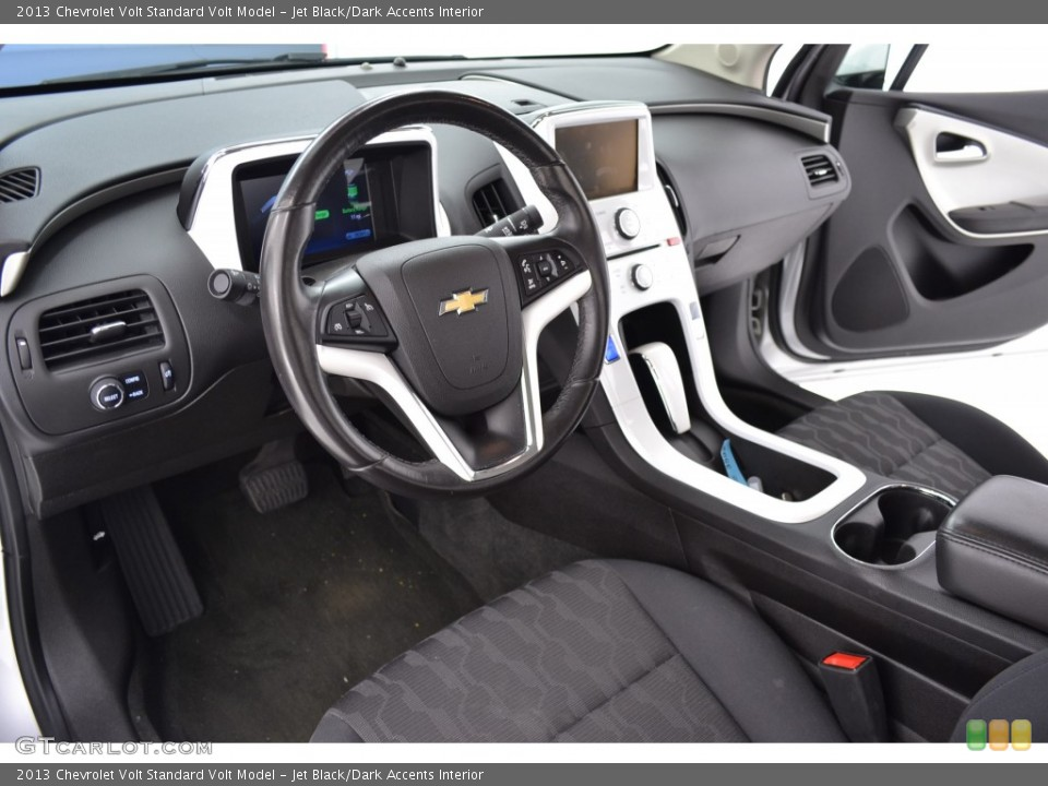 Jet Black/Dark Accents 2013 Chevrolet Volt Interiors