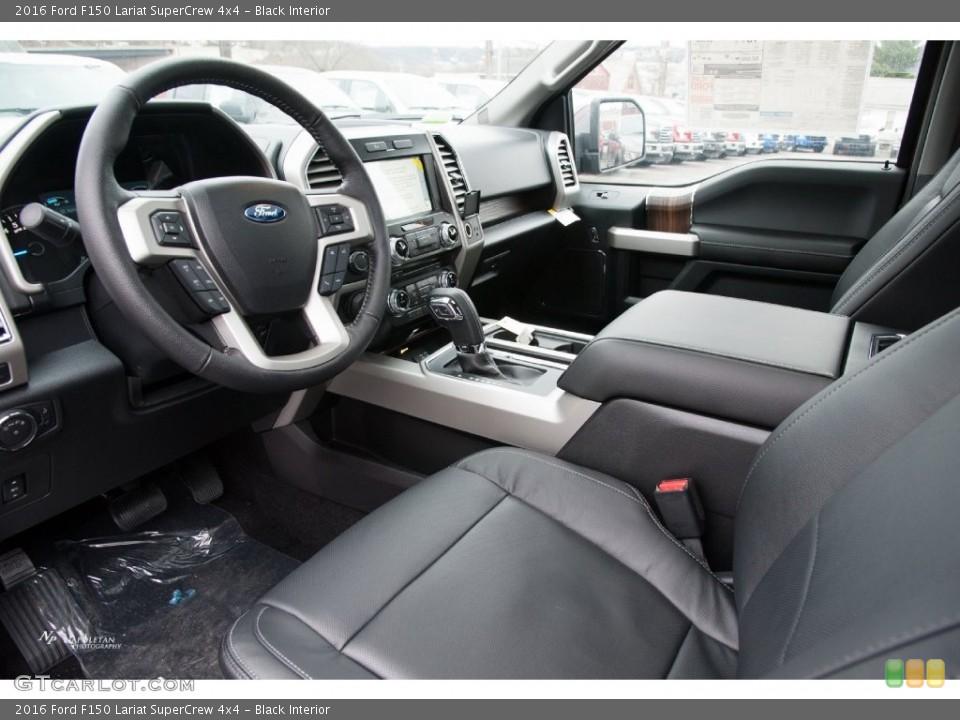 Black Interior Prime Interior For The 2016 Ford F150 Lariat