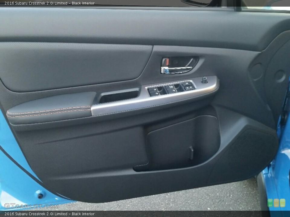 Black Interior Door Panel for the 2016 Subaru Crosstrek 2.0i Limited #109814988