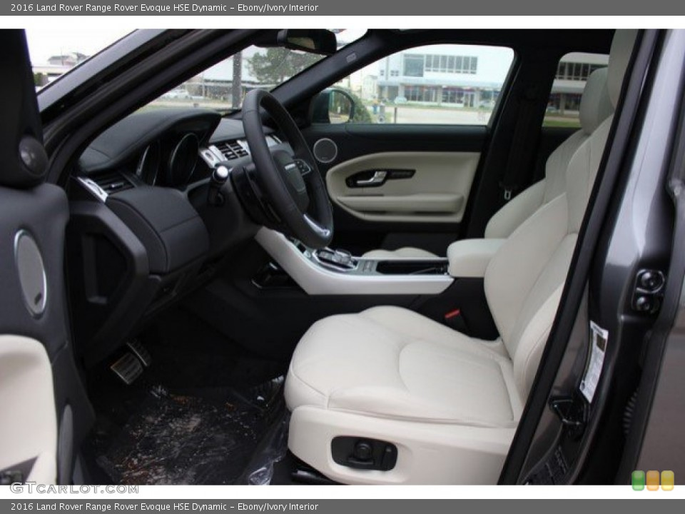 Remarkable Ebony Ivory Interior Front Seat For The 2016 Land Rover Squirreltailoven Fun Painted Chair Ideas Images Squirreltailovenorg