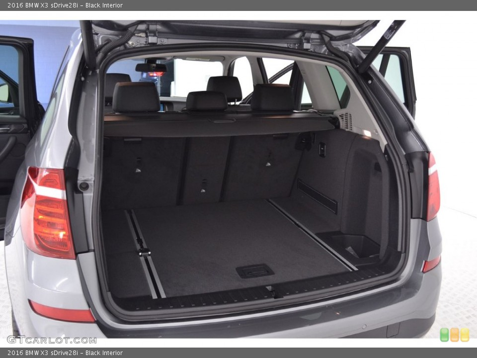 Black Interior Trunk for the 2016 BMW X3 sDrive28i #110063953