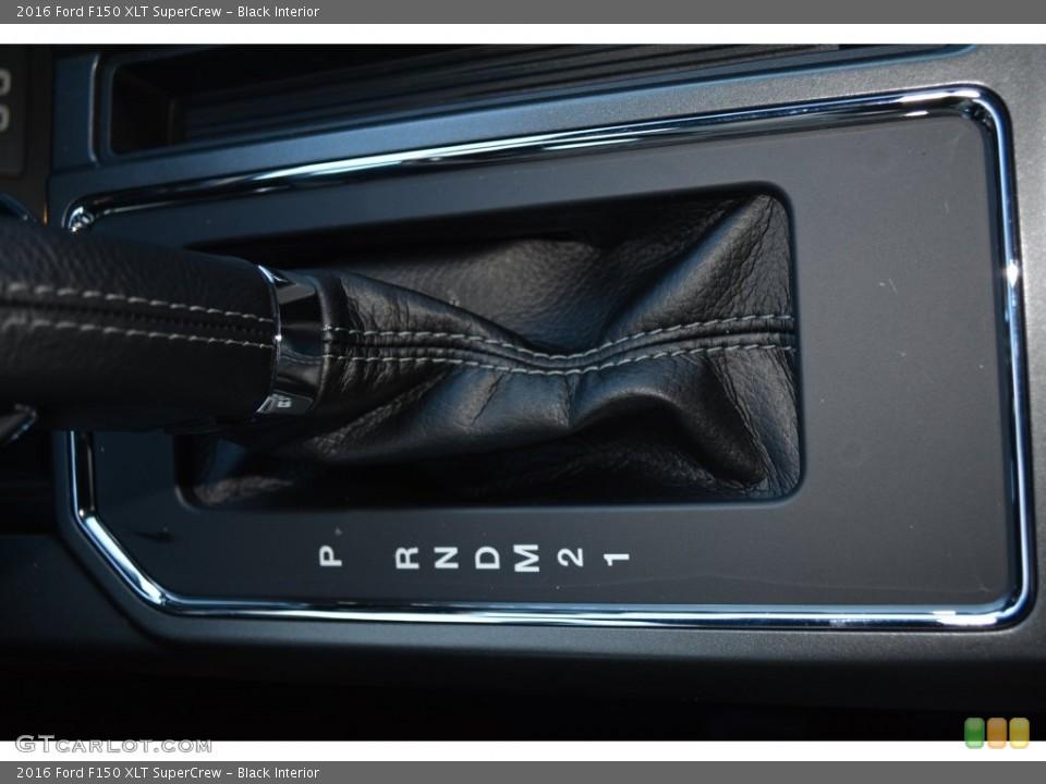 Black Interior Transmission for the 2016 Ford F150 XLT SuperCrew #110168728
