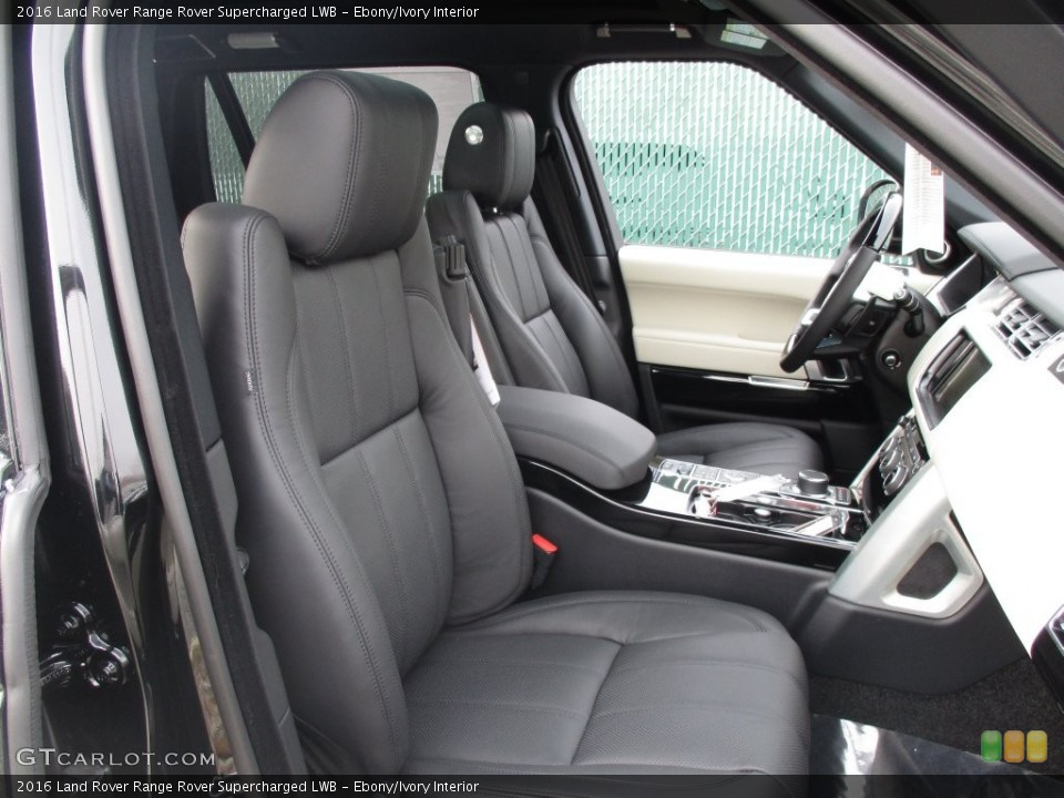 Ebony/Ivory Interior Front Seat for the 2016 Land Rover Range Rover Supercharged LWB #110225612