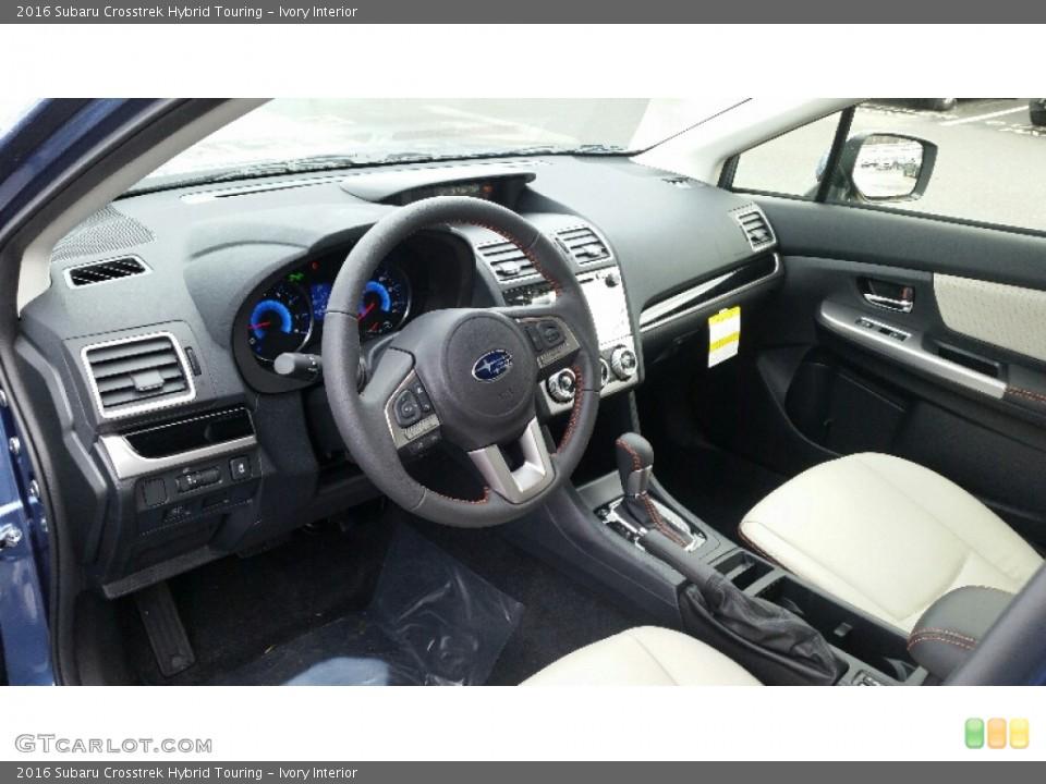 Ivory 2016 Subaru Crosstrek Interiors
