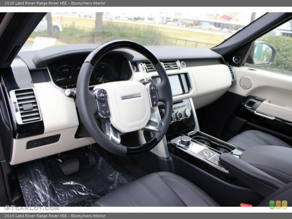 Ebony/Ivory Interior Prime Interior for the 2016 Land Rover Range Rover HSE #110802880