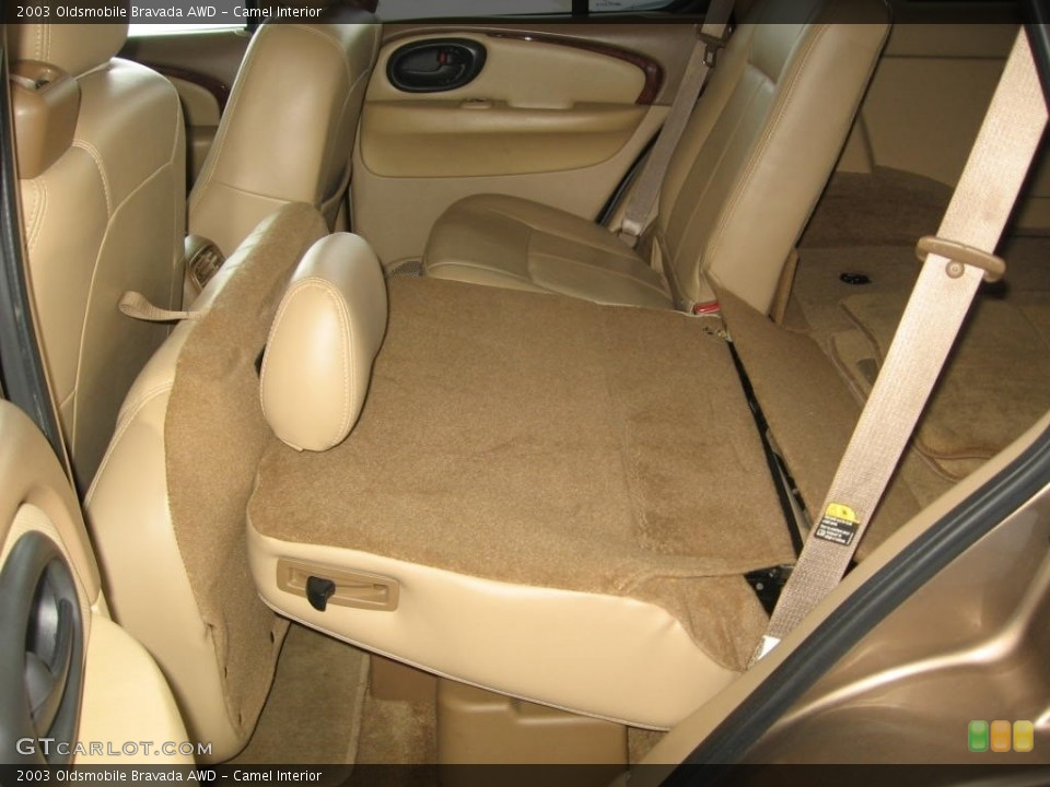 Tremendous Camel Interior Rear Seat For The 2003 Oldsmobile Bravada Awd Unemploymentrelief Wooden Chair Designs For Living Room Unemploymentrelieforg