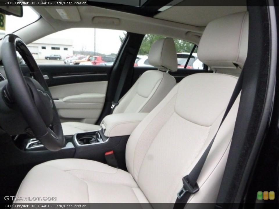 Black/Linen 2015 Chrysler 300 Interiors