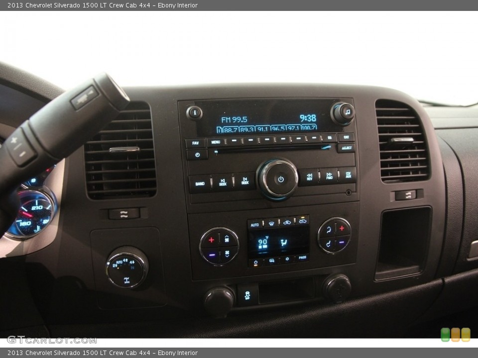 Ebony Interior Controls for the 2013 Chevrolet Silverado 1500 LT Crew Cab 4x4 #111964093
