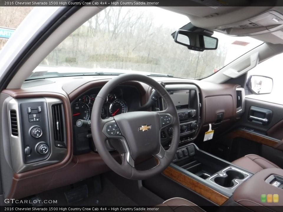 High Country Saddle 2016 Chevrolet Silverado 1500 Interiors