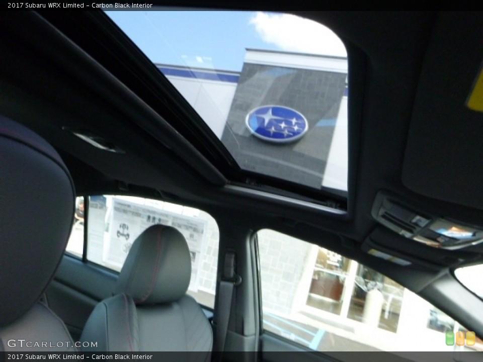 Carbon Black Interior Sunroof for the 2017 Subaru WRX Limited #113878960