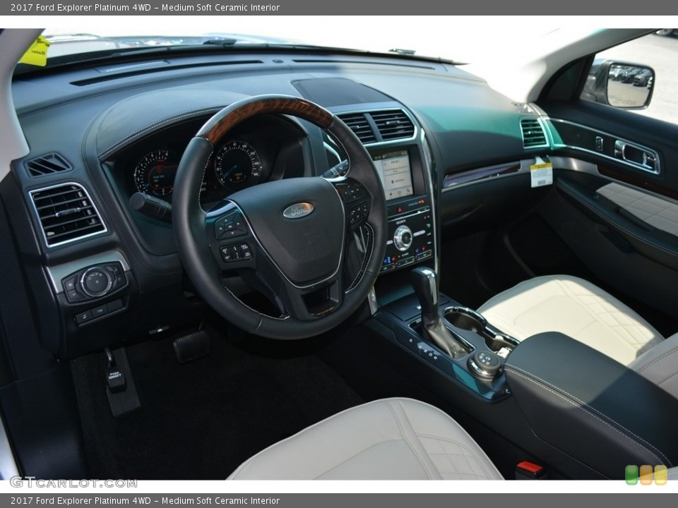 Medium Soft Ceramic 2017 Ford Explorer Interiors