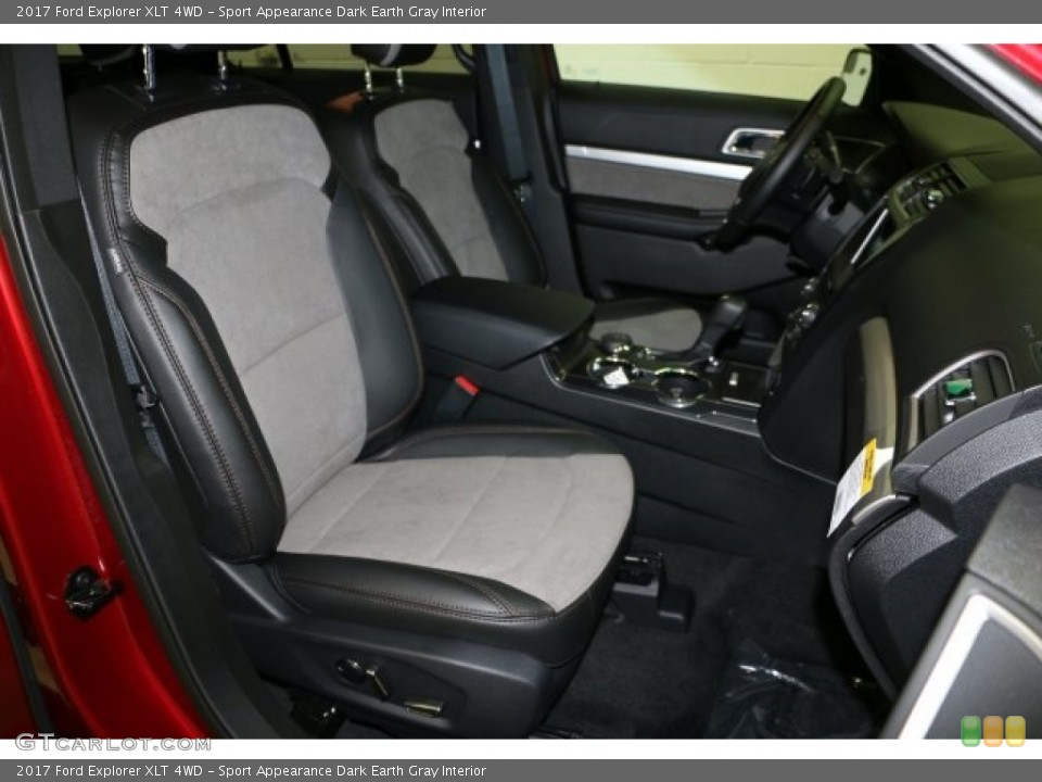 Sport Appearance Dark Earth Gray Interior Front Seat for the 2017 Ford Explorer XLT 4WD #114511623