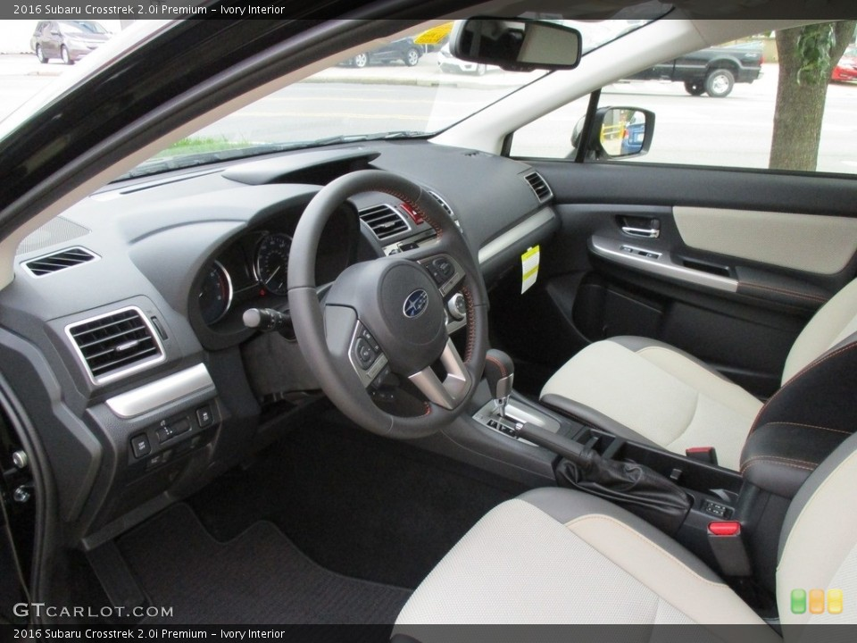 Ivory Interior Photo for the 2016 Subaru Crosstrek 2.0i Premium #114740697