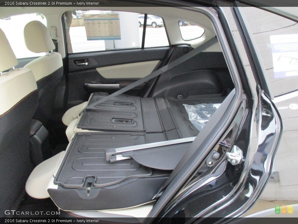 Ivory Interior Rear Seat for the 2016 Subaru Crosstrek 2.0i Premium #114740778