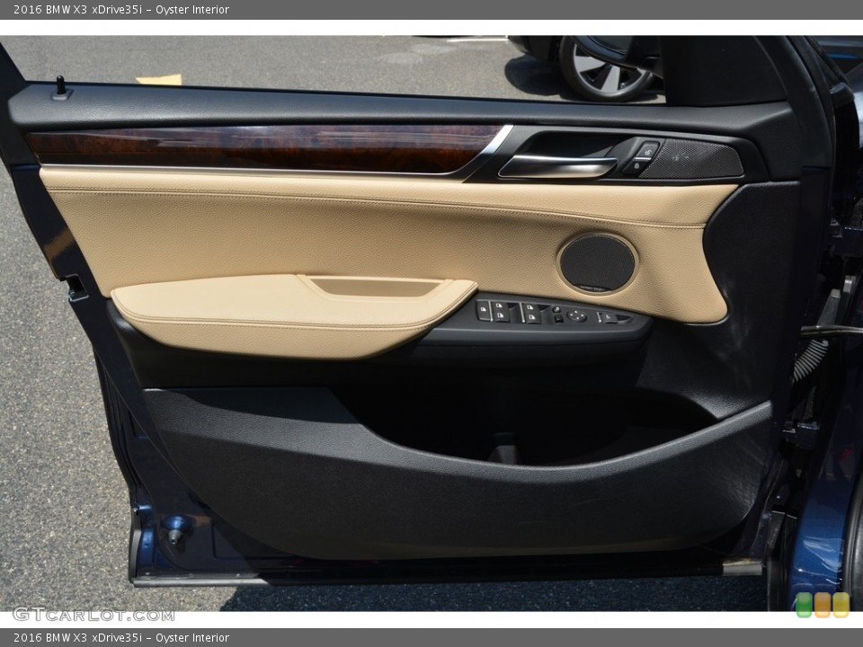 Oyster Interior Door Panel for the 2016 BMW X3 xDrive35i #114853119