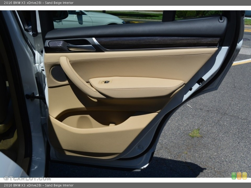 Sand Beige Interior Door Panel for the 2016 BMW X3 xDrive28i #115212968