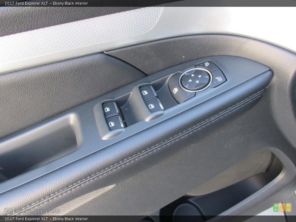 Ebony Black Interior Controls for the 2017 Ford Explorer XLT #115402506