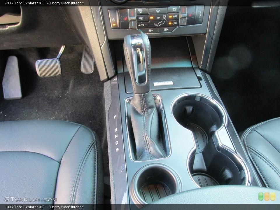 Ebony Black Interior Transmission for the 2017 Ford Explorer XLT #115402689