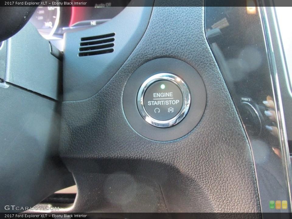 Ebony Black Interior Controls for the 2017 Ford Explorer XLT #115402719