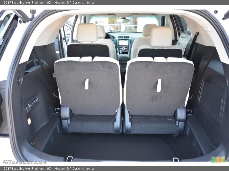 Medium Soft Ceramic Interior Trunk for the 2017 Ford Explorer Platinum 4WD #115565144