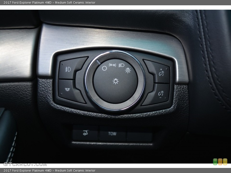 Medium Soft Ceramic Interior Controls for the 2017 Ford Explorer Platinum 4WD #115565393