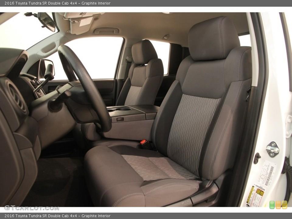 Graphite 2016 Toyota Tundra Interiors