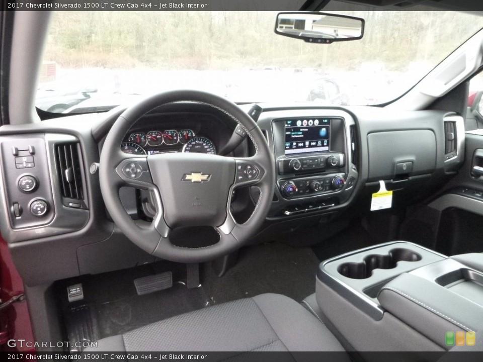 Jet Black 2017 Chevrolet Silverado 1500 Interiors