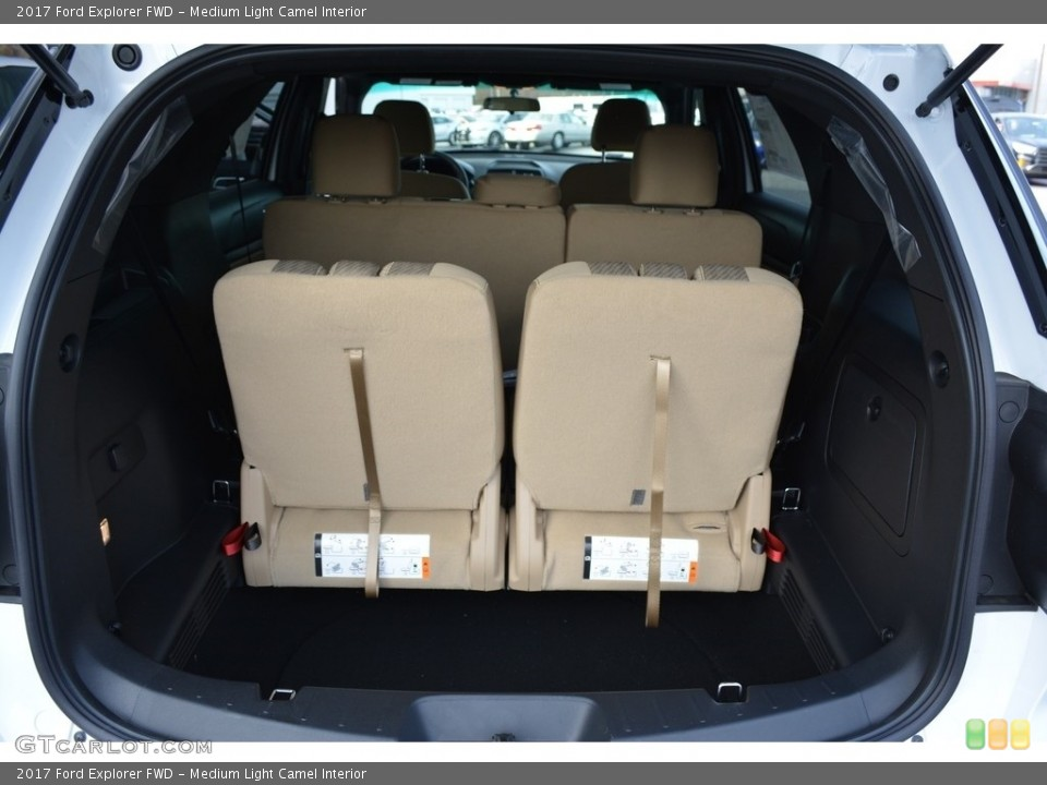 Medium Light Camel Interior Trunk for the 2017 Ford Explorer FWD #117178996