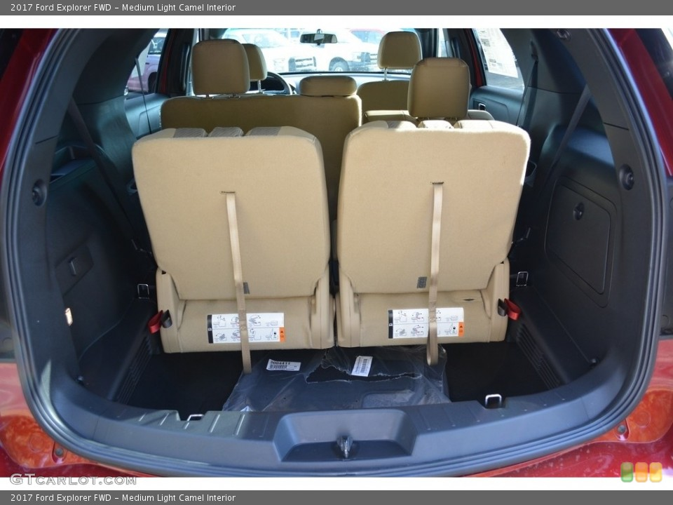 Medium Light Camel Interior Trunk for the 2017 Ford Explorer FWD #117185272