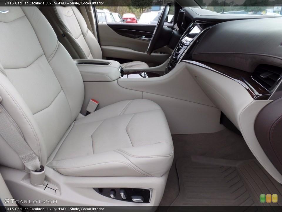 Shale/Cocoa 2016 Cadillac Escalade Interiors