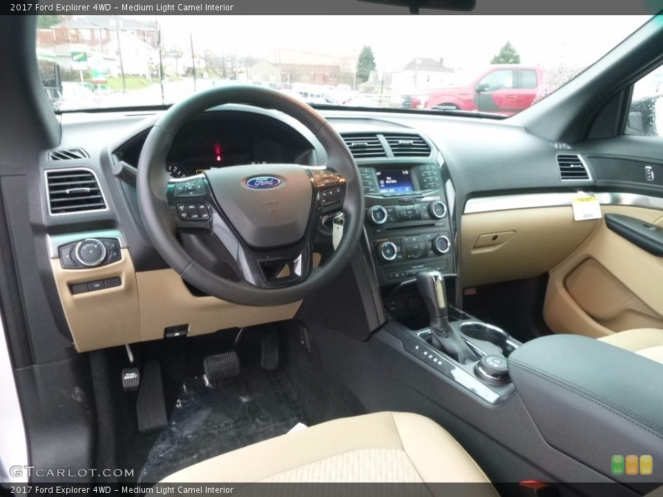 Medium Light Camel Interior Photo for the 2017 Ford Explorer 4WD #117277051